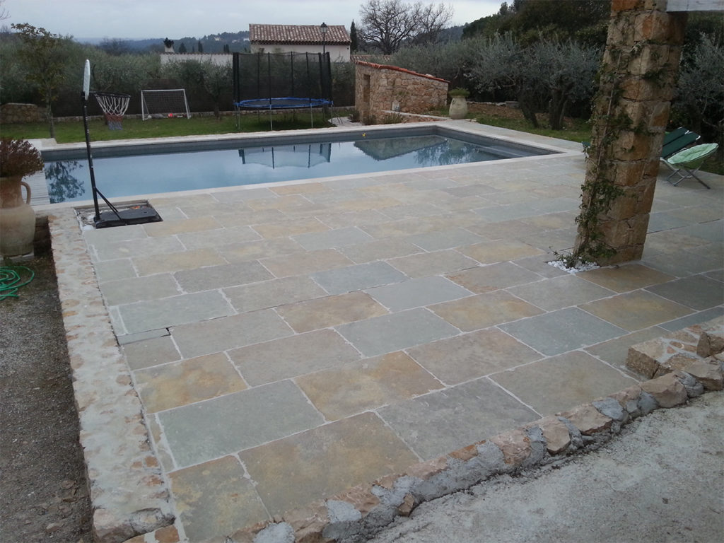 R alisation carrelage terrasse mosa que piscine for Carrelage piscine mosaique