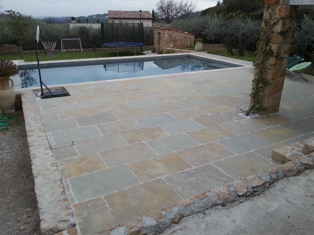 R alisation carrelage terrasse mosa que piscine for Carrelage piscine mosaique